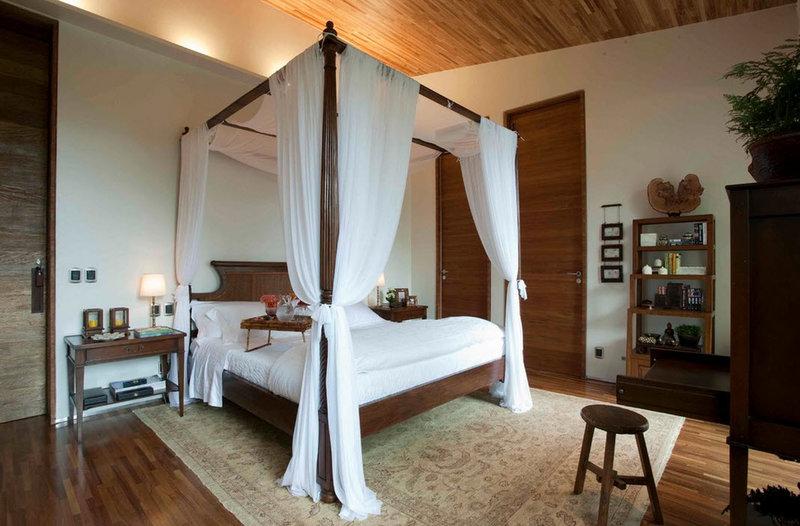 Прелестная комната с интересным дизайнерским решением