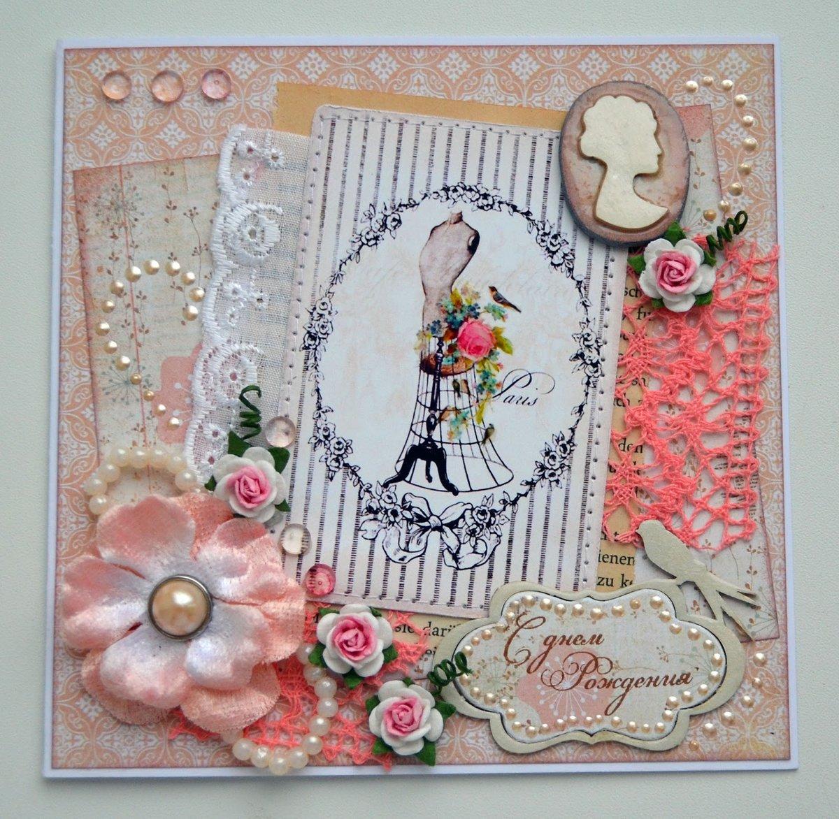 Декоративные открытки на день рождения, открытки татьянин