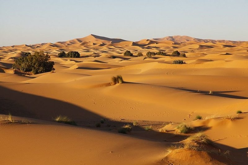 Марокканская Пустыня. Сахара