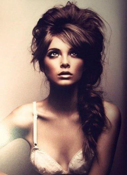 Девушка с косой фотосессия