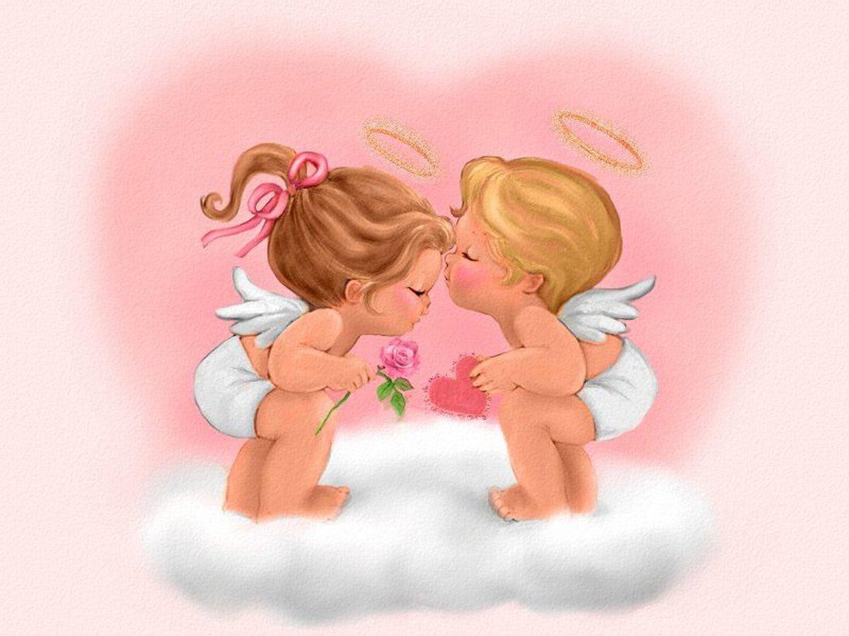 Картинки я тебя люблю ангелочки