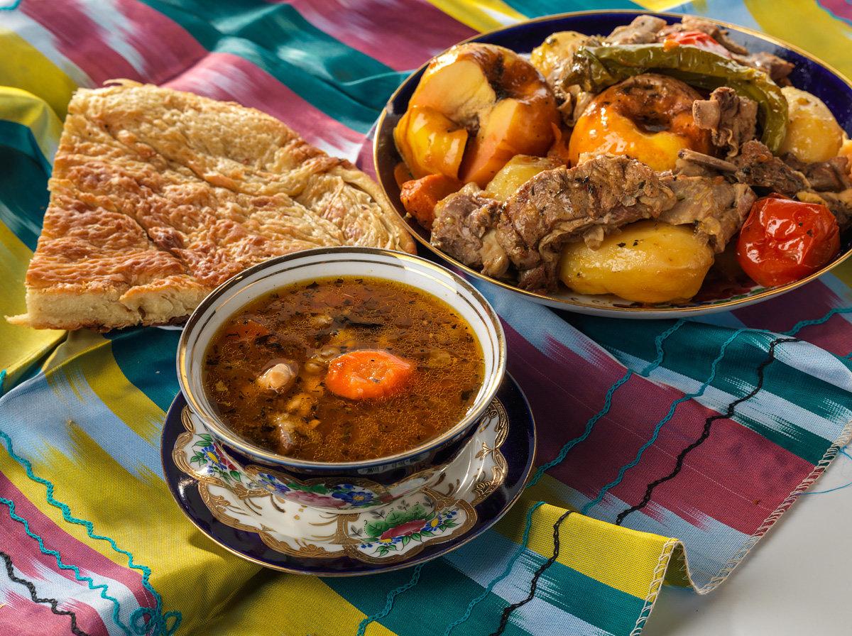 кухня средней азии рецепты с фото калининграде