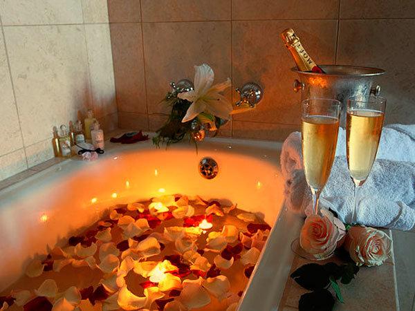 Принятия ванны как ритуал