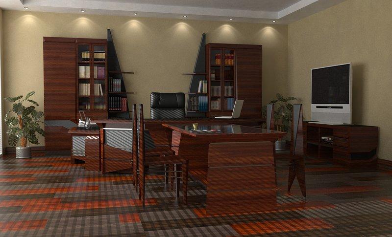 кабинет — это не просто рабочее место, это к тому же отличное средство самовыражения.