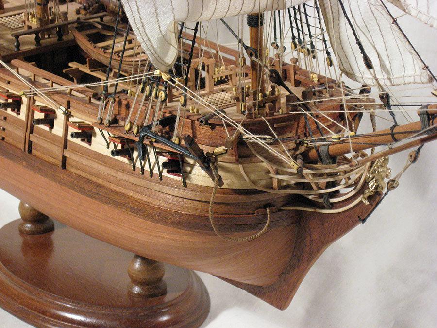 Модели парусных кораблей из дерева своими руками