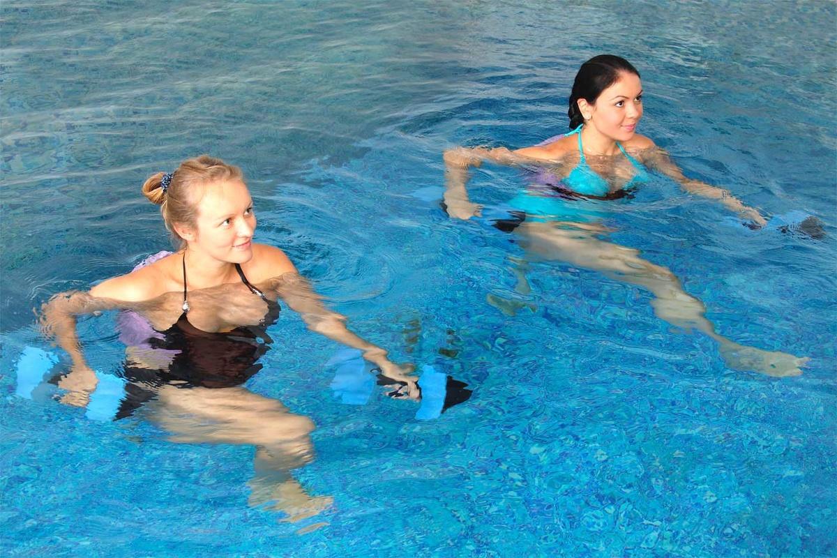 бассейн не эффективен для похудения