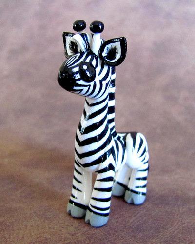 черно белая зебра