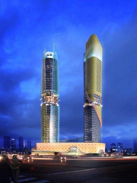 Гостиничный комплекс Rosemont с тропическим лесом в Дубаи