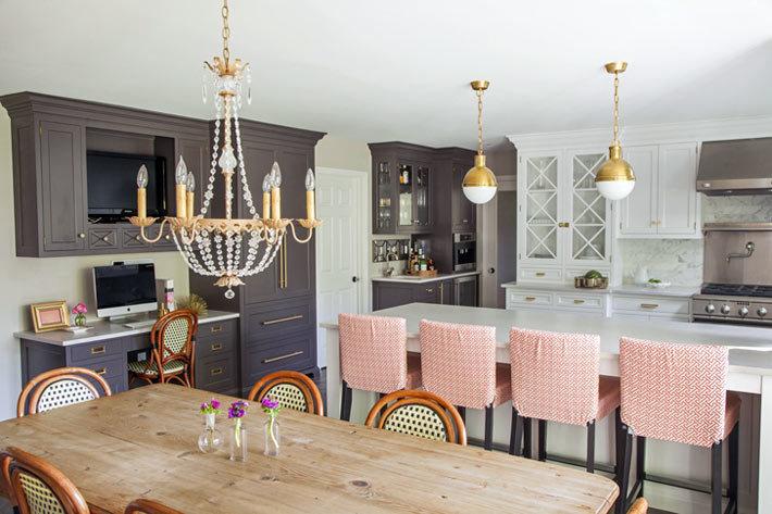 фотографии красивого интерьера кухни фото