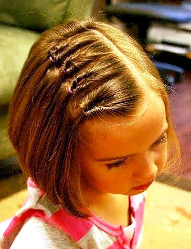 Детское каре - стрижка для маленьких девочек с фото 20