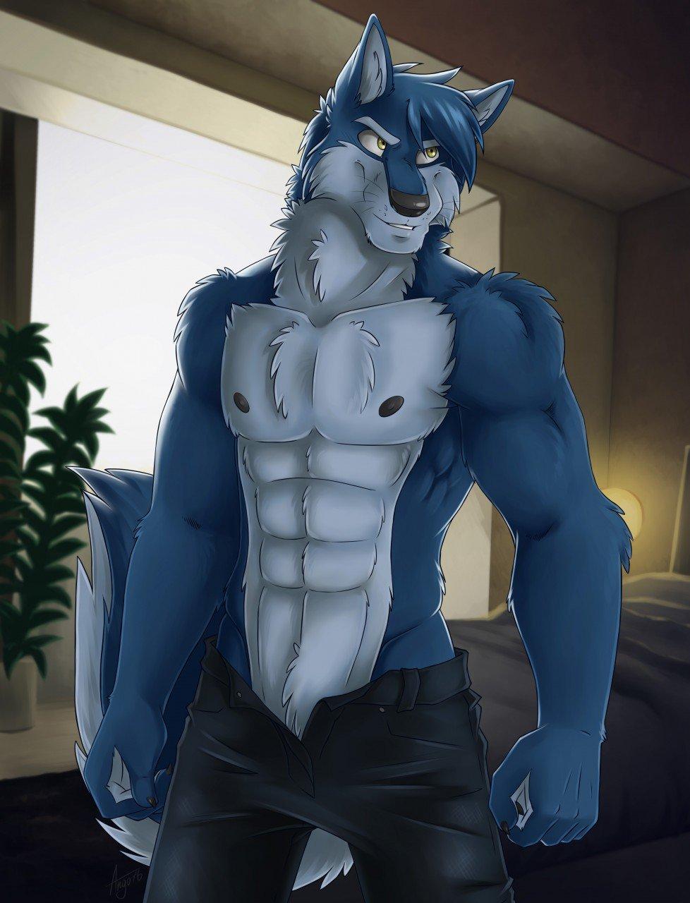 Furry волк