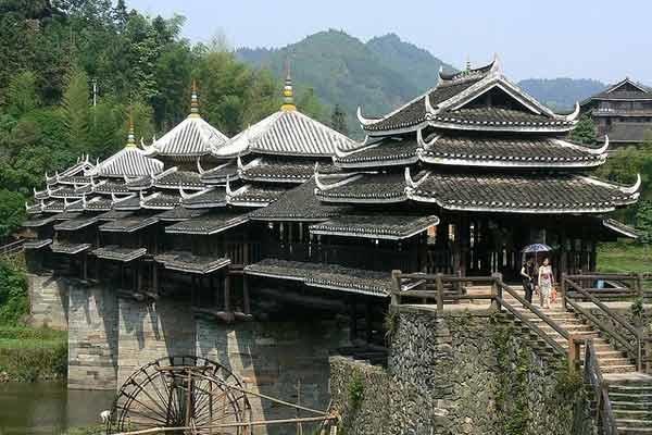 Мост Дождя и Ветра Ченьян (Китай)