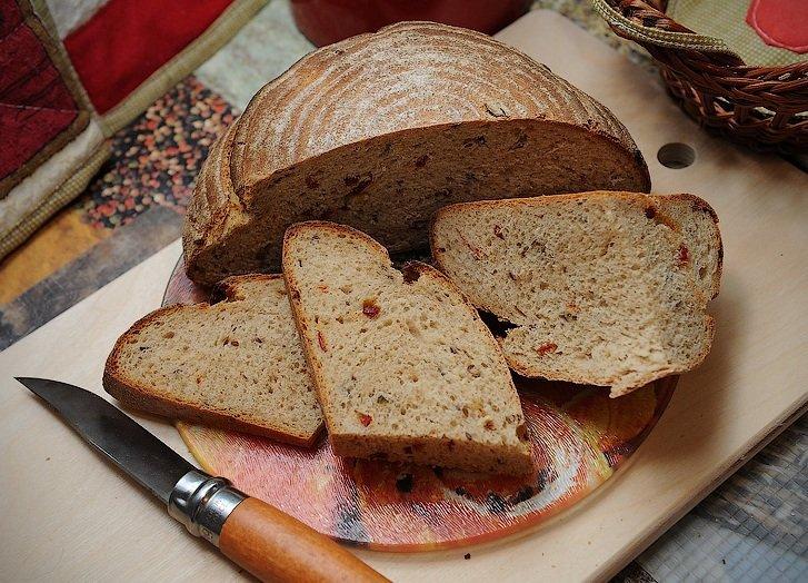 как испечь ржаной хлеб дома в духовке