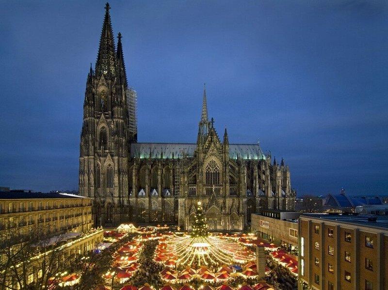 Кельнский собор, ставший одной из главных достопримечательностей Германии
