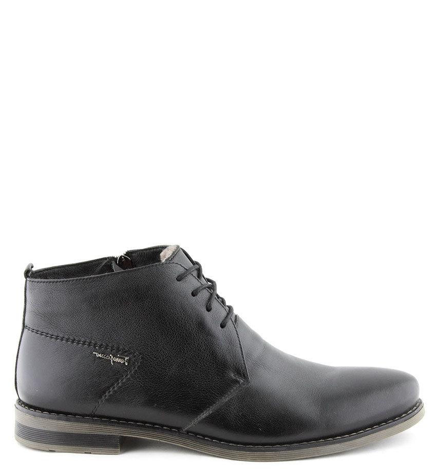 Удобные мужские ботинки классические на меху. Качественные и недорогие для  своей натуральности. Клпассическая обувь 5e7d03a7322