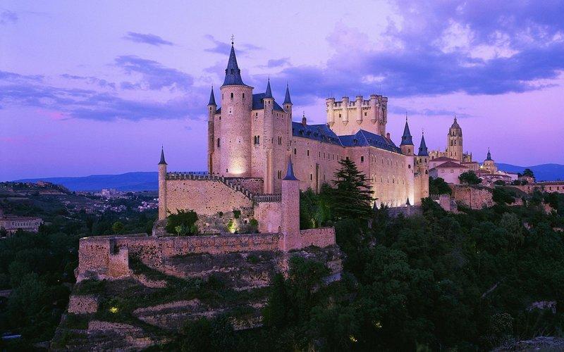 Дворцы и замки Испании: Алькасар в Сеговии (Alcázar de Se...