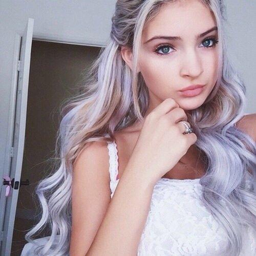 Пепельно фиолетовый цвет