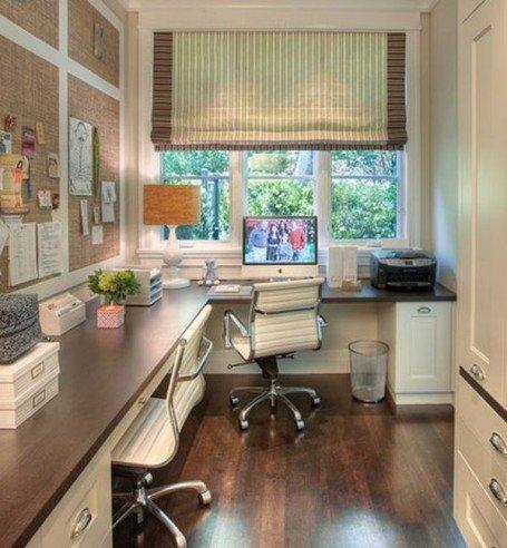 Планируя оформление небольшого офиса, помните о том, что сегодня в продаже есть много вариаций мебели, которая сама по себе не занимает много места
