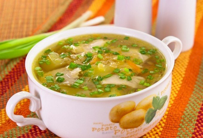 рецепт и фото,лёгкого приготвления супа