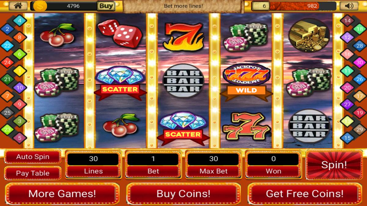 Игровые автоматы в казино сша часть ii