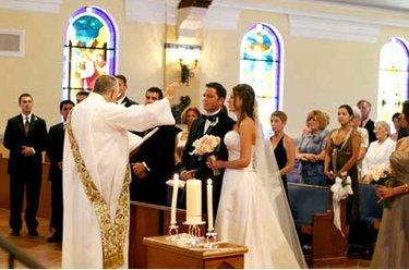 фото церемонии венчания католиков