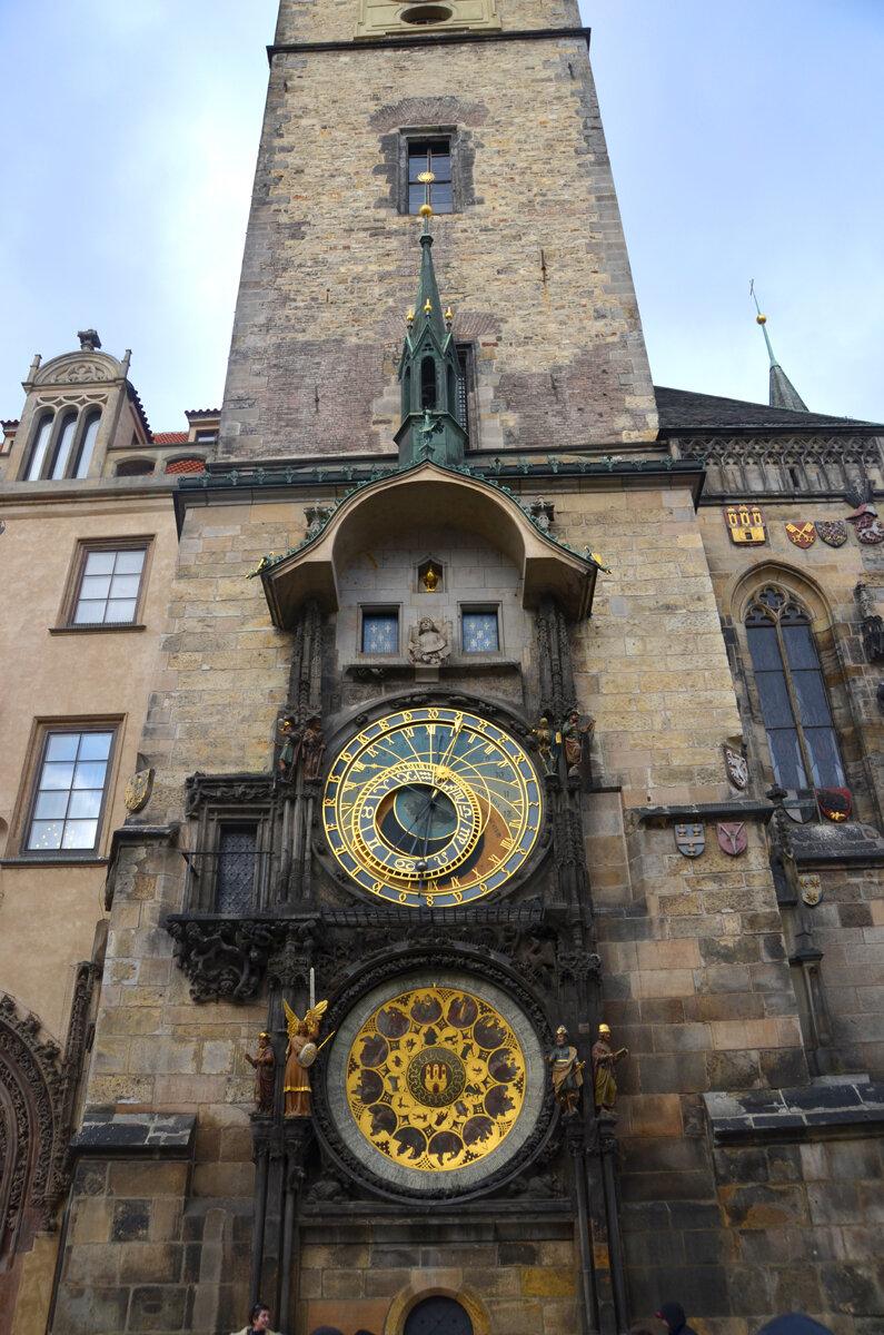 Староместская ратуша с курантами, Прага.