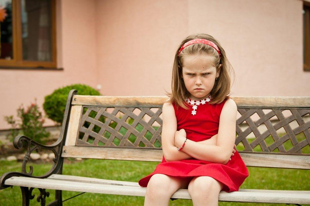 Картинки злая девочка маленькая