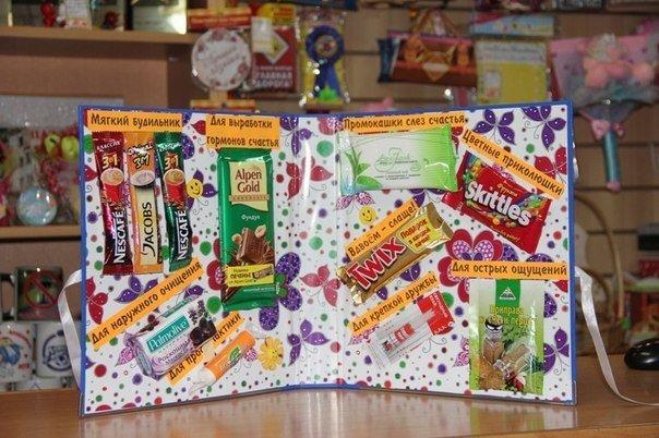 Как сделать открытку сладкую на день рождения, таксы