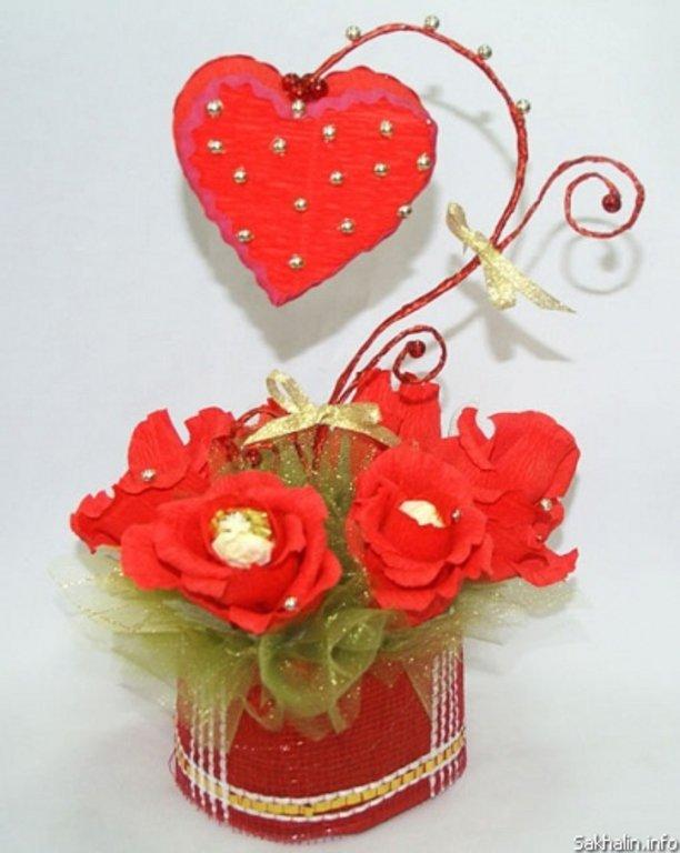 День всех влюбленных цветы подарков своими руками
