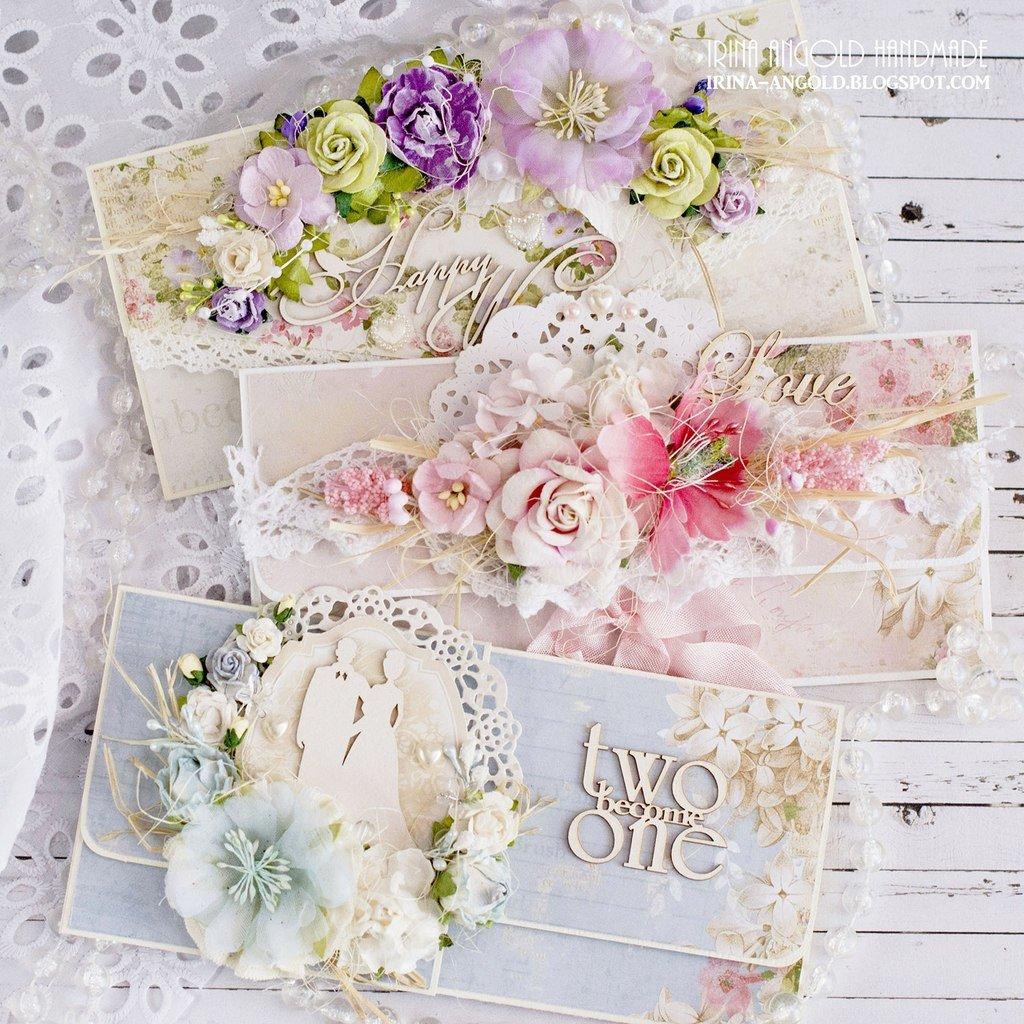 Скрапбукинг. открытки свадебный конверт, люблю свою россию