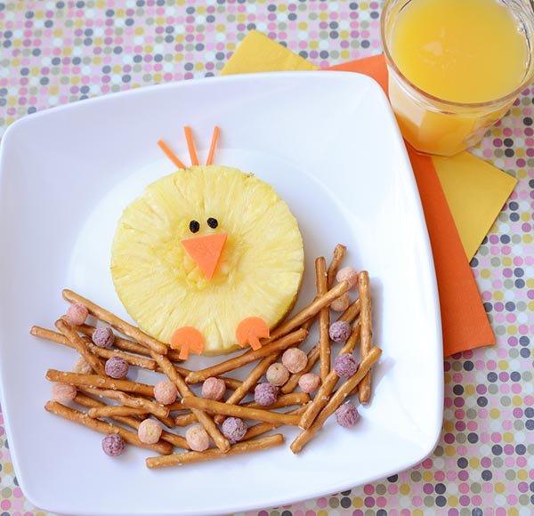 Красивое оформление блюд для детей
