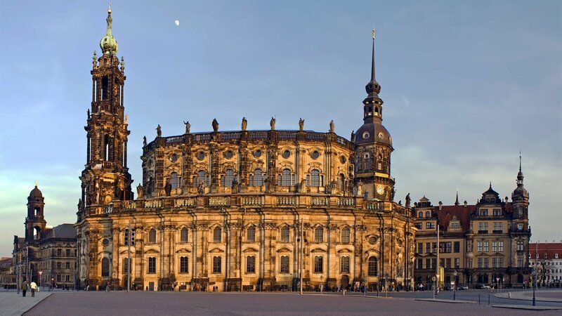 Популярные достопримечательности Дрездена (Германия) - YouTube