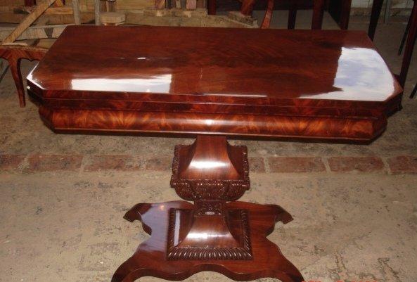 реставрация полированной мебели своими руками карточка
