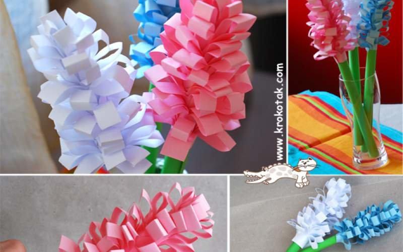 Цветы маме на 8 марта своими руками из бумаги