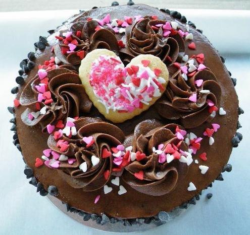 пошаговый фото рецепт торта на день влюбленных