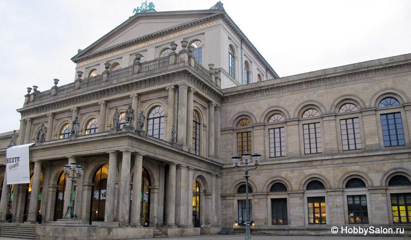 Оперный театр Ганновера – крупнейший оперный театр Германии
