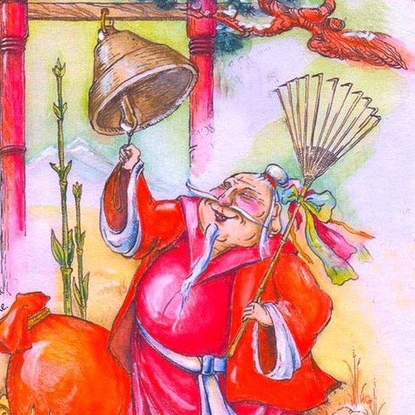 Новогодние открытки разных стран мира