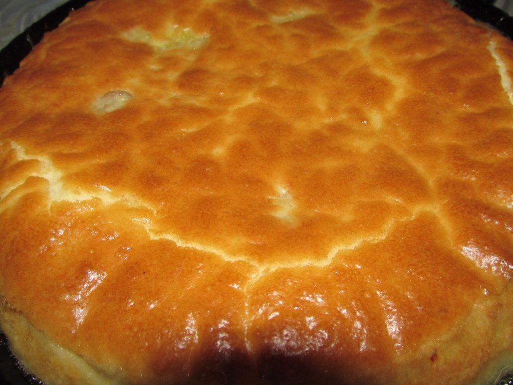 пирог с капустой заливной на сметане и майонезе