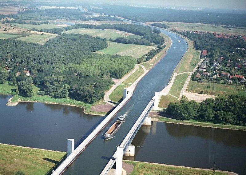 Магдебургский «водный перекресток»