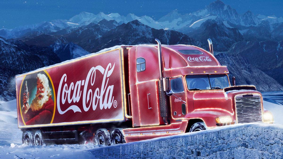 Картинки из рекламы кока колы