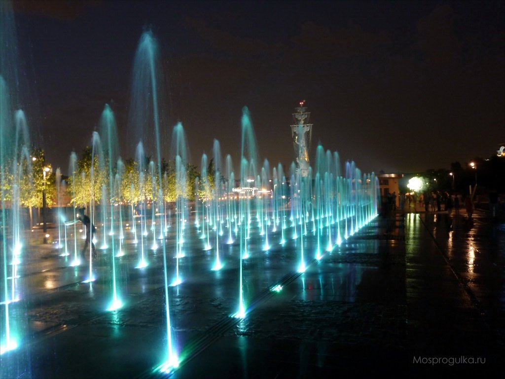 сухие фонтаны в москве фото сложное