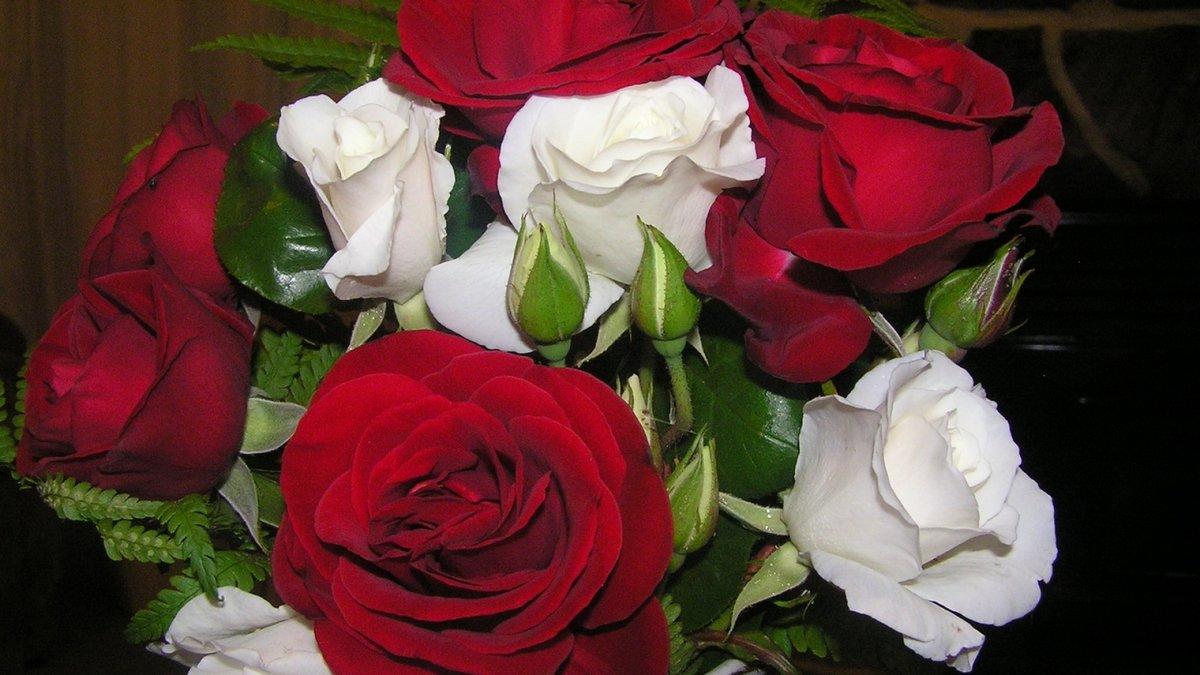 Цветы фото красивые букеты розы с надписями с днем рождения