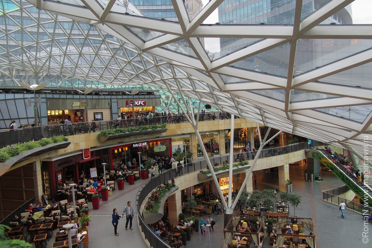 торговые центры в варшаве с фото