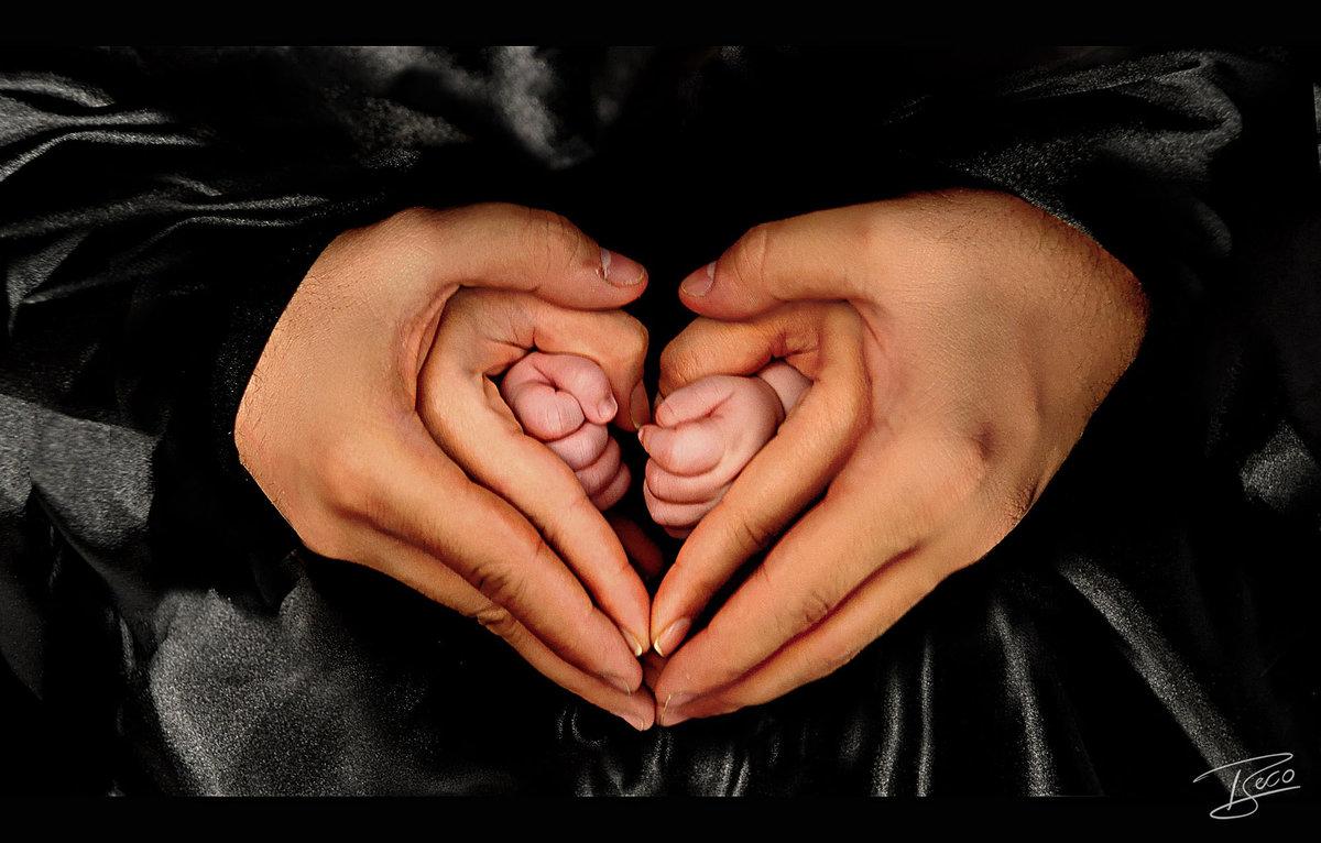 Красивые картинки детей с надписями о любви