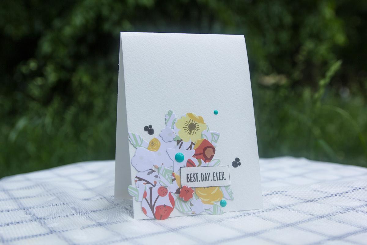 Стиль в скрапбукинге просто и чисто открытки
