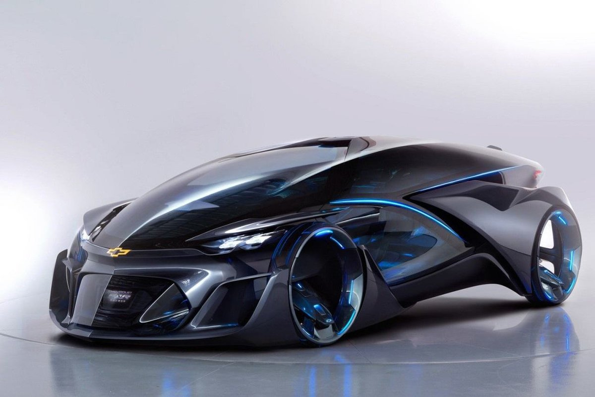 """Познакомьтесь с Chevrolet-FNR. Ðто автономный электрический концепт-кар, в данный момент выставлен на ШанÑайском автосалоне. Трудно было себе представить EV автомобиль, от такой компании как Chevrolet, но время и тенденции не стоят на месте, соответственно автопроизводителям приÑодится продумывать свои будущие стратегии. Концепция является примером """"мобильности будущего"""" и была разработана специально для этого мероприятия."""