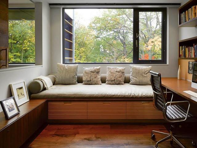 Для чего предназначен домашний кабинет: для постоянной работы, для домашней библиотеки, для любимого хобби или творческой работы?