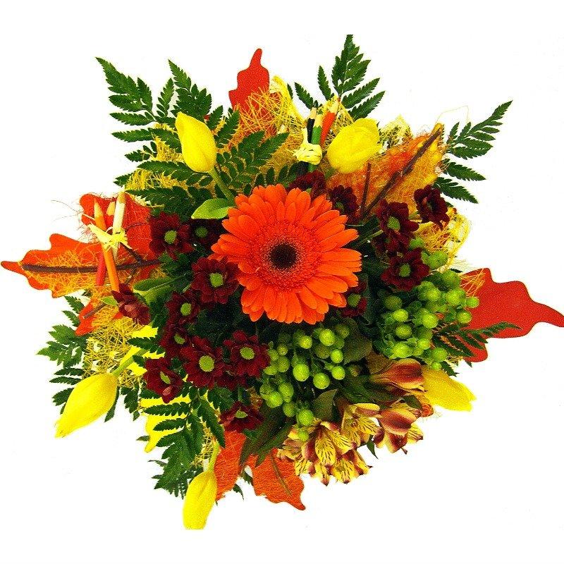 Шикарный букет полевых цветов фото картинки для печати