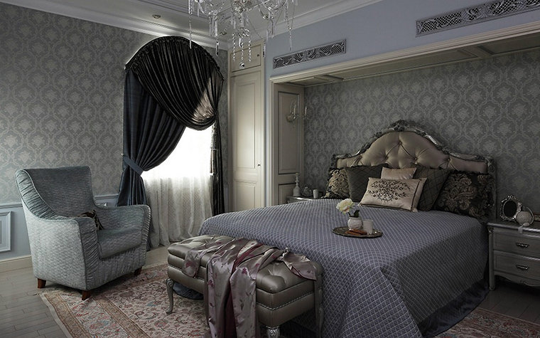 Варианты спальных комнат с дорогой мебелью предлагает рассмотреть в нашей фото подборке.