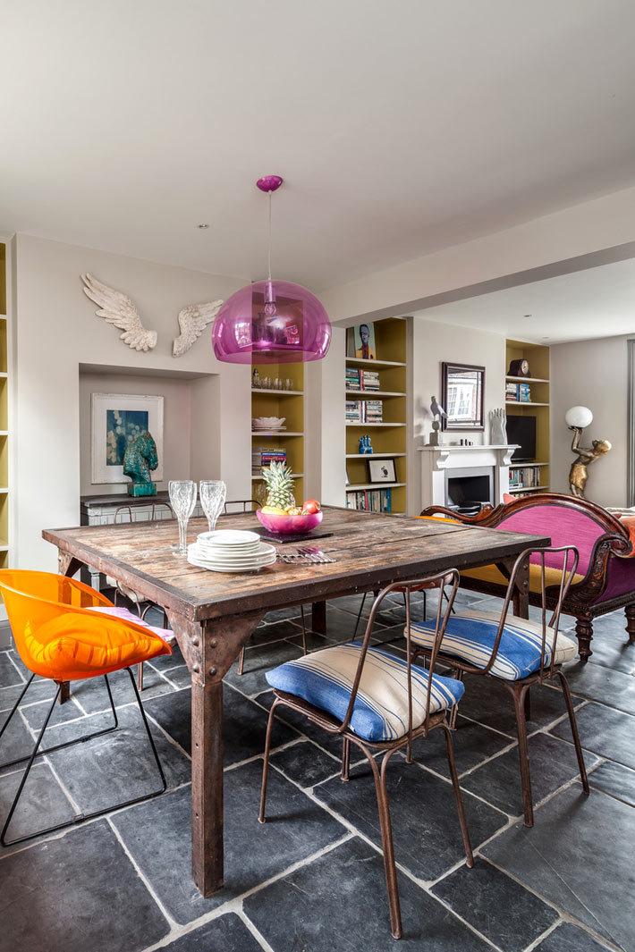 дизайн интерьера дома в Англии